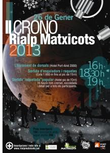 Crono matxicots 2013